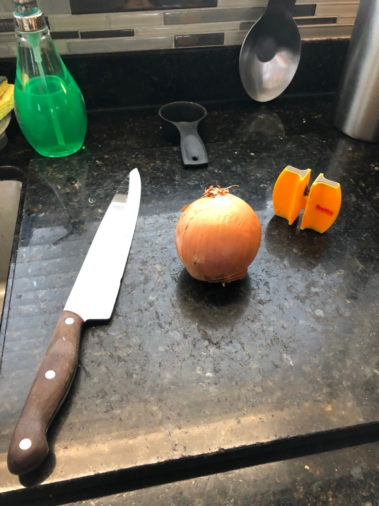 Make sure your knife is good and sharp!