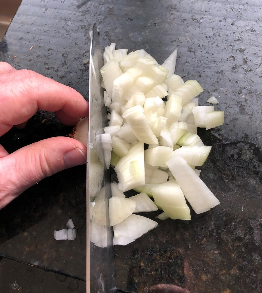 So many recipes start with 'Chop an onion'