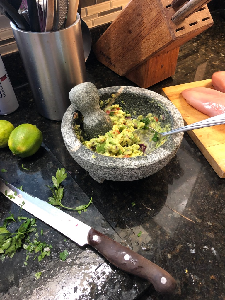 You don't need a genuine Molcajete mortar and pestle to make delicious guacamole