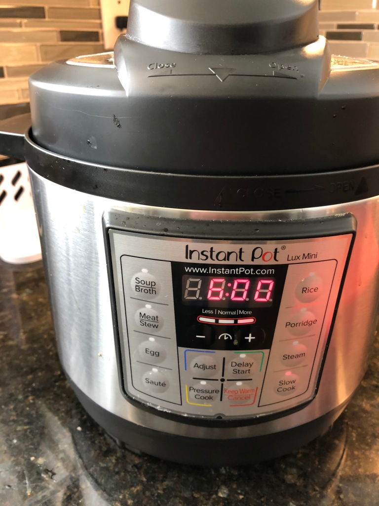 4 to 6 h,ours in the slow cooker or in the Instant Pot set to Slow Cook. Or, as little as 60 minutes in the Instant Pot set to Pressure Cook