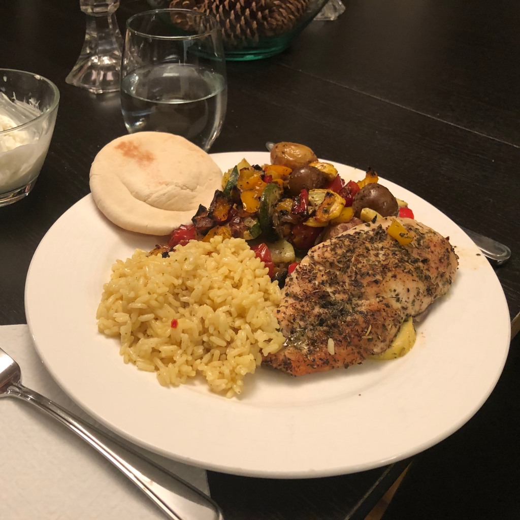 This easy to make sheet tray meal is even easier to make if you have a shaker full of the special Greek Seasoning mix ready in advance