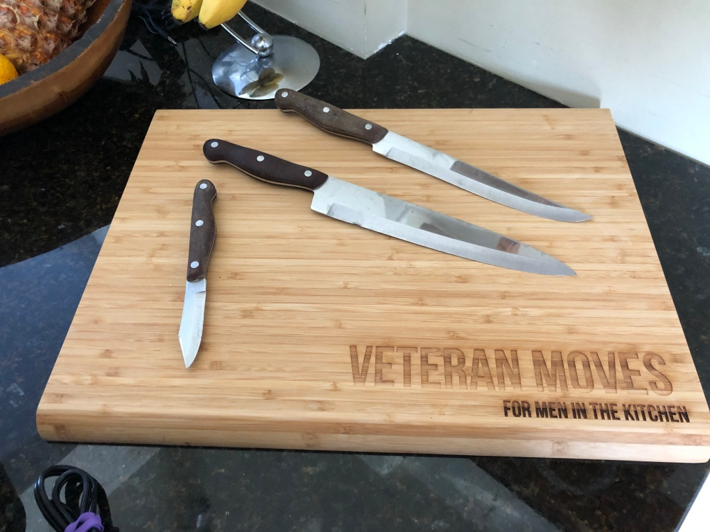 Second most important tool(s) knives and a good cutting board