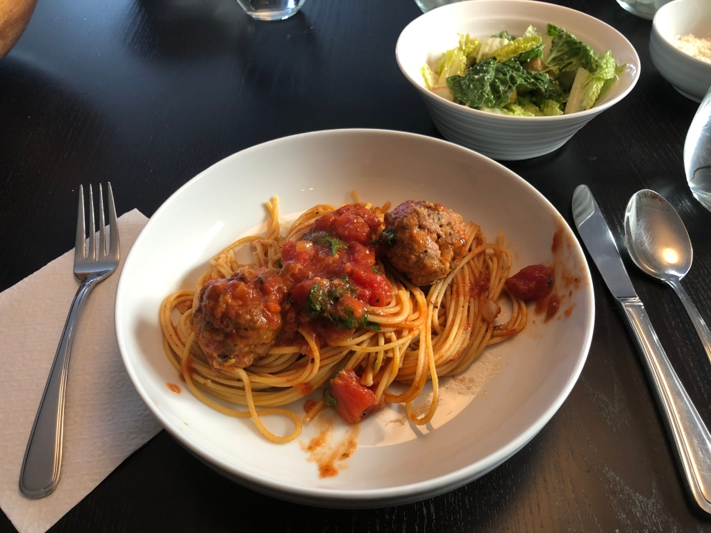 Few meals are as comforting (at least at my house) as spaghetti and meatballs