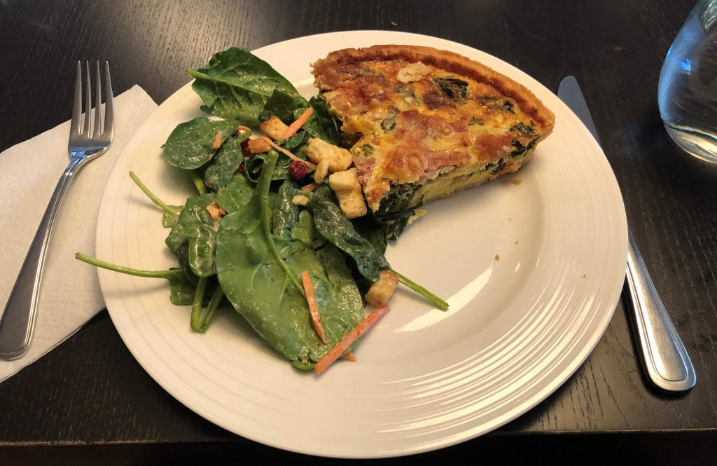 Adding spinach improves the overall nutritious value of what can be a decadent meal choice