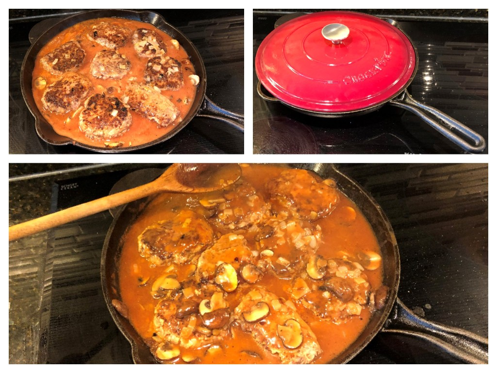 Cover and cook on low heat for 20 minutes, stirring occasionally to allow gravy to thicken.